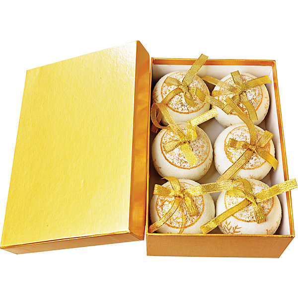 TUKZAR Набор елочных шаров, 6 шт tukzar набор деревянных ёлочных игрушек 24х24 см 24 предмета