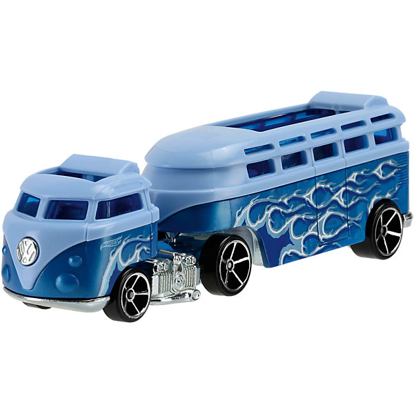 Mattel Базовый трейлер Hot Wheels, Custom Volkswagen Hauler hot wheels track stars трейлер aero blast