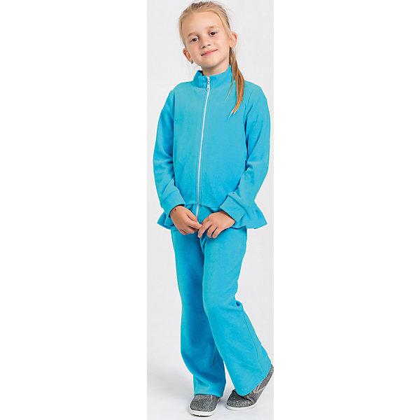 Купить Спортивный костюм для девочки Goldy, Беларусь, голубой, 104, 98, 92, 122, 116, 110, Женский