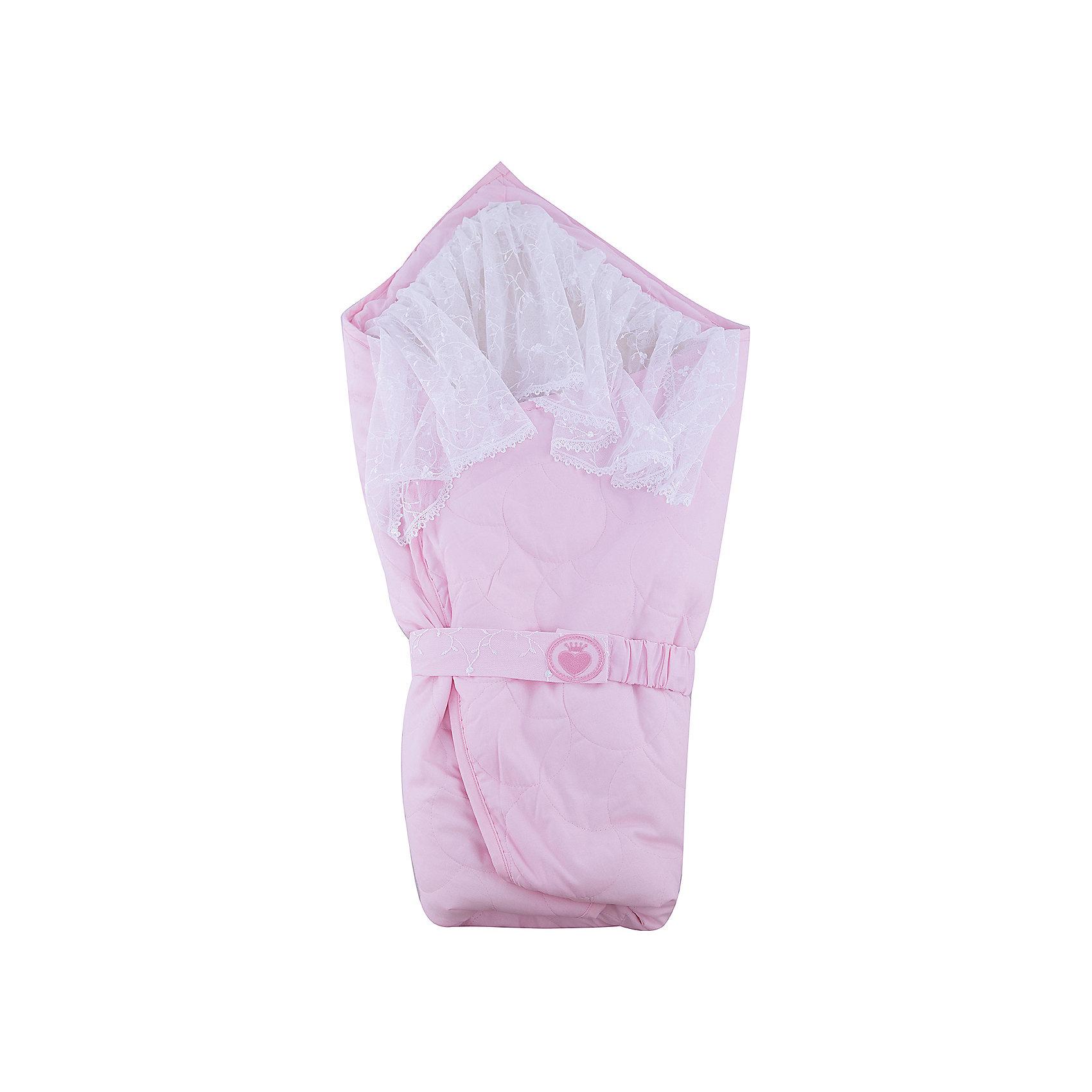 Одеяло-конверт Зимушка, Сонный гномик, розовый