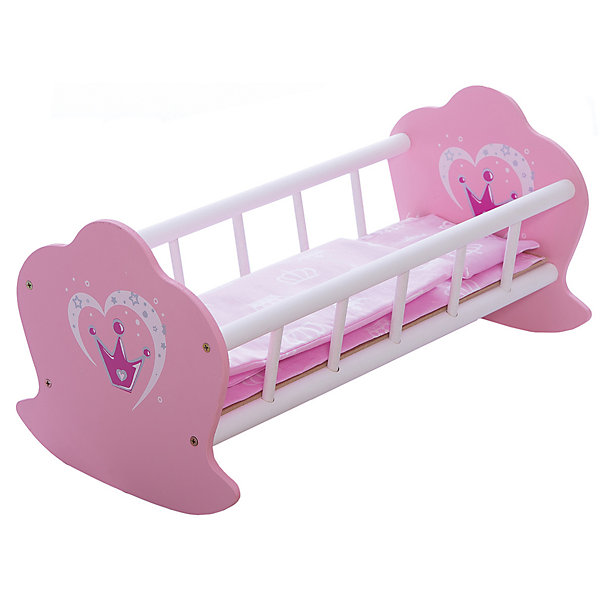 Mary Poppins Кроватка-люлька деревянная Корона,