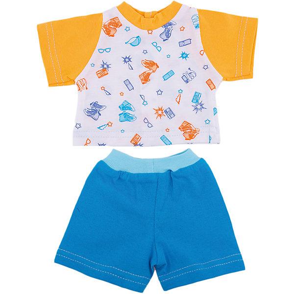 Фотография товара одежда для куклы 42 см, футболка и шортики, Mary Poppins (4925577)