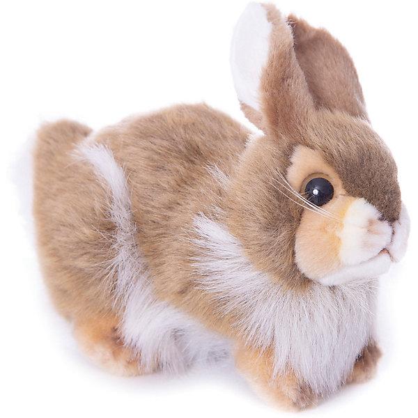 Кролик, 23 смМягкие игрушки зайцы и кролики<br>Кролик, 23 см – игрушка от знаменитого бренда Hansa, специализирующегося на выпуске мягких игрушек с высокой степенью натуралистичности. Внешний вид игрушечного кролика полностью соответствует реальному прототипу – домашнему кролику. Он выполнен из искусственного меха с ворсом разной длины: короткий на лапках, ушках и мордочке, длинный – на туловище. Окрас игрушки – коричнево-белый. Использованные материалы обладают гипоаллергенными свойствами. Внутри игрушки имеется металлический каркас, позволяющий изменять положение. <br>Игрушка относится к серии Домашние животные. <br>Мягкие игрушки от Hansa подходят для сюжетно-ролевых игр, для обучающих игр, направленных на знакомство с миром живой природы. Кроме того, их можно использовать в качестве интерьерных игрушек. Коллекция из нескольких игрушек позволяет создать свою домашнюю ферму, которая будет радовать вашего ребенка долгое время, так как ручная работа и качественные материалы гарантируют их долговечность и прочность.<br><br>Дополнительная информация:<br><br>- Вид игр: сюжетно-ролевые игры, коллекционирование, интерьерные игрушки<br>- Предназначение: для дома, для детских развивающих центров, для детских садов<br>- Материал: искусственный мех, наполнитель ? полиэфирное волокно<br>- Размер (ДхШхВ): 23*18*11 см<br>- Вес: 570 г<br>- Особенности ухода: сухая чистка при помощи пылесоса или щетки для одежды<br><br>Подробнее:<br><br>• Для детей в возрасте: от 3 лет <br>• Страна производитель: Филиппины<br>• Торговый бренд: Hansa<br><br>Кролика, 23 см можно купить в нашем интернет-магазине.