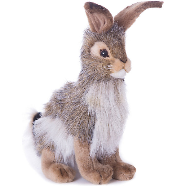 Hansa Мягкая игрушка Лесные животные Чернохвостый заяц, 23 см