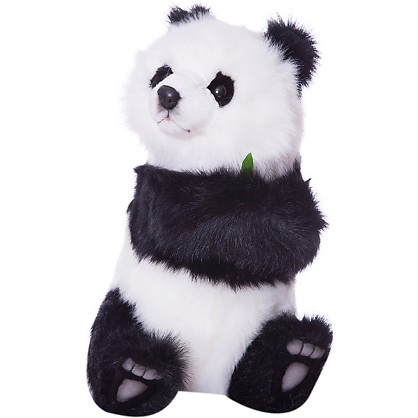 Детеныш панды, сидящий, 41 смМягкие игрушки животные<br>Детеныш панды,  41 см – игрушка от знаменитого бренда Hansa, специализирующегося на выпуске мягких игрушек с высокой степенью натуралистичности. Внешний вид игрушечной панды полностью соответствует реальному прототипу. Она выполнена из искусственного меха черного и белого цветов с длинным ворсом. В лапках детеныш панды держит веточку любимого лакомства – бамбуковые веточки. Использованные материалы обладают гипоаллергенными свойствами. Внутри игрушки имеется металлический каркас, позволяющий изменять положение. <br>Игрушка относится к серии Дикие животные. <br>Мягкие игрушки от Hansa подходят для сюжетно-ролевых игр, для обучающих игр, направленных на знакомство с животным миром дикой природы. Кроме того, их можно использовать в качестве интерьерных игрушек. Коллекция из нескольких игрушек позволяет создать свой домашний зоопарк, который будет радовать вашего ребенка долгое время, так как ручная работа и качественные материалы гарантируют их долговечность и прочность.<br><br>Дополнительная информация:<br><br>- Вид игр: сюжетно-ролевые игры, коллекционирование, интерьерные игрушки<br>- Предназначение: для дома, для детских развивающих центров, для детских садов<br>- Материал: искусственный мех, наполнитель ? полиэфирное волокно<br>- Размер (ДхШхВ): 41*27*30 см<br>- Вес: 1 кг 270 г<br>- Особенности ухода: сухая чистка при помощи пылесоса или щетки для одежды<br><br>Подробнее:<br><br>• Для детей в возрасте: от 3 лет <br>• Страна производитель: Филиппины<br>• Торговый бренд: Hansa<br><br>Детеныша панды,  41 см можно купить в нашем интернет-магазине.<br>Ширина мм: 41; Глубина мм: 27; Высота мм: 30; Вес г: 1270; Возраст от месяцев: 36; Возраст до месяцев: 2147483647; Пол: Унисекс; Возраст: Детский; SKU: 4927181;