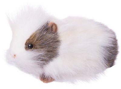 Морская свинка белая, 20 см Д, артикул:4927188 - Мягкие игрушки