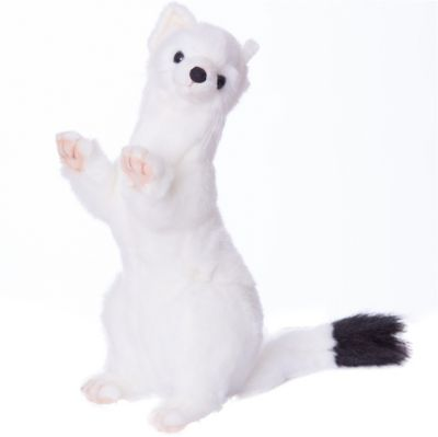 Горностай (зимний окрас), 30 см, артикул:4927200 - Мягкие игрушки