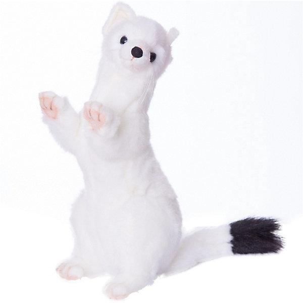 Hansa Мягкая игрушка Лесные животные Горностай зимний окрас, 30 см
