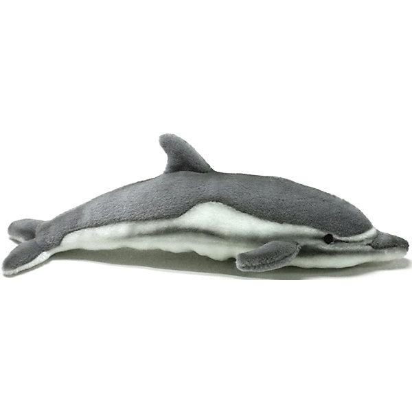 Дельфин, 40 смМягкие игрушки животные<br>Дельфин, 40 см – игрушка от знаменитого бренда Hansa, специализирующегося на выпуске мягких игрушек с высокой степенью натуралистичности. Внешний вид игрушечного дельфина полностью соответствует реальному прототипу. Он выполнен из искусственного меха с коротким ворсом серого оттенка и белой грудкой. Использованные материалы обладают гипоаллергенными свойствами. Внутри игрушки имеется металлический каркас, позволяющий изменять положение. <br>Игрушка относится к серии Дикие животные. <br>Мягкие игрушки от Hansa подходят для сюжетно-ролевых игр, для обучающих игр, направленных на знакомство с животным миром дикой природы. Кроме того, их можно использовать в качестве интерьерных игрушек. Коллекция из нескольких игрушек позволяет создать свой домашний зоопарк, который будет радовать вашего ребенка долгое время, так как ручная работа и качественные материалы гарантируют их долговечность и прочность.<br><br>Дополнительная информация:<br><br>- Вид игр: сюжетно-ролевые игры, коллекционирование, интерьерные игрушки<br>- Предназначение: для дома, для детских развивающих центров, для детских садов<br>- Материал: искусственный мех, наполнитель ? полиэфирное волокно<br>- Размер (ДхШхВ): 40*12*10 см<br>- Вес: 400 г<br>- Особенности ухода: сухая чистка при помощи пылесоса или щетки для одежды<br><br>Подробнее:<br><br>• Для детей в возрасте: от 3 лет <br>• Страна производитель: Филиппины<br>• Торговый бренд: Hansa<br><br>Дельфина, 40 см можно купить в нашем интернет-магазине.<br>Ширина мм: 40; Глубина мм: 12; Высота мм: 10; Вес г: 400; Возраст от месяцев: 36; Возраст до месяцев: 2147483647; Пол: Унисекс; Возраст: Детский; SKU: 4927204;