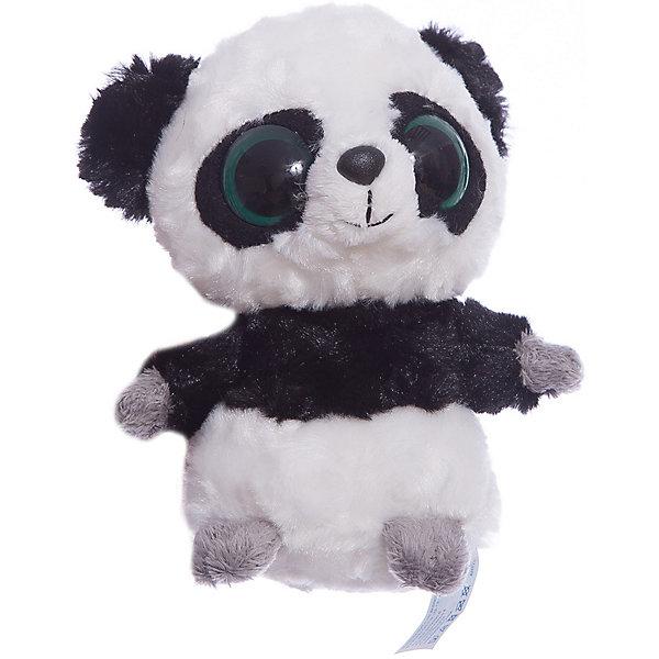 Мягкая игрушка Панда, 12см, Юху и друзья, AURORAМягкие игрушки из мультфильмов<br>Характеристики:<br><br>• вес: 100г.;<br>• материал: плюш, синтепон;<br>• упаковка: пакет;<br>• размер игрушки:12см.;<br>• для детей в возрасте: от 3 лет;<br>• страна производитель: Южная Корея.<br><br>Мягкая игрушка «Панда» бренда «AURORA» (Аврора) станет желанным подарком для маленьких девчонок и мальчишек. Она создана из качественных, не аллергенных материалов, что очень важно для детских товаров.<br><br>Милая плюшевая игрушка с шикарной шубкой привлечёт внимание любого ребёнка. Игрушка имеет оптимальный размер, её рост составляет двенадцать сантиметров. У неё мягкое тельце, блестящий чёрный носик и большие глазки. Панду можно брать с собой в путешествия и на прогулки, чтобы показывать подружкам и играть вместе сними. Игрушка надолго останется любимицей малыша, она не линяет и не деформируется даже при машинной стирке.<br><br>Играя, с мягкими игрушками дети получают позитивные тактильные ощущения, хорошо успокаиваются и засыпают.<br><br>Мягкую игрушку «Панда» можно купить в нашем интернет-магазине.<br>Ширина мм: 80; Глубина мм: 80; Высота мм: 100; Вес г: 90; Возраст от месяцев: 36; Возраст до месяцев: 120; Пол: Унисекс; Возраст: Детский; SKU: 4929017;