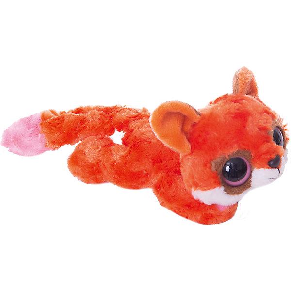 Купить Мягкая игрушка Лисица красная лежачая, 16 см, Юху и друзья, AURORA, Китай, Унисекс