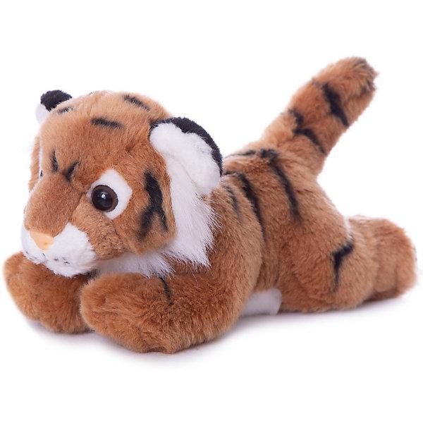 Мягкая игрушка Тигр коричневый, 28 см, AURORAМягкие игрушки животные<br>Характеристики:<br><br>• вес: 275г.;<br>• материал: плюш, синтепон;<br>• упаковка: пакет;<br>• размер игрушки:28см.;<br>• для детей в возрасте: от 3 лет;<br>• страна производитель: Южная Корея.<br><br>Мягкая игрушка «Тигр коричневый» бренда «AURORA» (Аврора) станет желанным подарком для маленьких девчонок и мальчишек. Она создана из качественных, не аллергенных материалов, что очень важно для детских товаров.<br><br>Милая плюшевая игрушка с шикарной шубкой привлечёт внимание любого ребёнка. Игрушка имеет оптимальный размер, её рост составляет двадцать восемь сантиметров. У неё мягкое тельце, блестящий чёрный носик и большие глазки. Тигра можно брать с собой в путешествия и на прогулки, чтобы показывать подружкам и играть вместе сними. Игрушка надолго останется любимицей малыша, она не линяет и не деформируется даже при машинной стирке.<br><br>Играя, с мягкими игрушками дети получают позитивные тактильные ощущения, хорошо успокаиваются и засыпают.<br><br>Мягкую игрушку «Тигр коричневый» можно купить в нашем интернет-магазине.<br>Ширина мм: 280; Глубина мм: 110; Высота мм: 140; Вес г: 256; Возраст от месяцев: 36; Возраст до месяцев: 120; Пол: Унисекс; Возраст: Детский; SKU: 4929044;