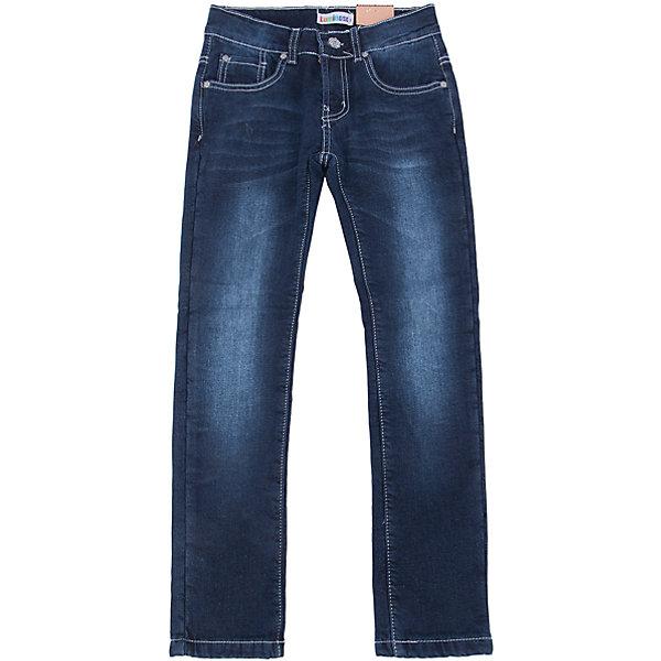 Джинсы для девочки LuminosoДжинсовая одежда<br>Характеристики товара:<br><br>- цвет: синий;<br>- материал: 98% хлопок, 2% эластан, подкладка - 100% полиэстер;<br>- застежка: пуговица и молния;<br>- пояс регулируется внутренней резинкой на пуговицах;<br>- эффект потертостей.<br><br>Стильная одежда от бренда Luminoso (Люминосо), созданная при участии итальянских дизайнеров, учитывает потребности подростков и последние веяния моды. Она удобная и модная.<br>Эти классические джинсы выглядят стильно, но при этом подходят для ежедневного ношения. Они хорошо сидят на ребенке, обеспечивают комфорт и отлично сочетаются с одежной разных стилей. Модель отличается высоким качеством материала и продуманным дизайном. Натуральный хлопок в составе изделия делает его дышащим, приятным на ощупь и гипоаллергеным.<br><br>Джинсы для девочки от бренда Luminoso (Люминосо) можно купить в нашем интернет-магазине.<br>Ширина мм: 215; Глубина мм: 88; Высота мм: 191; Вес г: 336; Цвет: синий; Возраст от месяцев: 132; Возраст до месяцев: 144; Пол: Женский; Возраст: Детский; Размер: 164,158,146,140,152,134; SKU: 4929731;