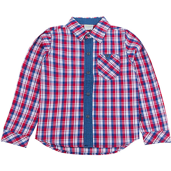 Рубашка для мальчика Sweet BerryБлузки и рубашки<br>Такая рубашка для мальчика отличается модным дизайном с актуальной расцветкой в клетку. Удачный крой обеспечит ребенку комфорт и тепло. Вещь плотно прилегает к телу там, где нужно, и отлично сидит по фигуре. Натуральный хлопок обеспечит коже возможность дышать и не вызовет аллергии.<br>Одежда от бренда Sweet Berry - это простой и выгодный способ одеть ребенка удобно и стильно. Всё изделия тщательно проработаны: швы - прочные, материал - качественный, фурнитура - подобранная специально для детей. <br><br>Дополнительная информация:<br><br>цвет: красный;<br>материал: 100% хлопок;<br>кармн на груди;<br>декорирована тонким денимом.<br><br>Рубашку для мальчика от бренда Sweet Berry можно купить в нашем интернет-магазине.<br>Ширина мм: 174; Глубина мм: 10; Высота мм: 169; Вес г: 157; Цвет: красный; Возраст от месяцев: 12; Возраст до месяцев: 15; Пол: Мужской; Возраст: Детский; Размер: 80,98,92,86; SKU: 4929947;