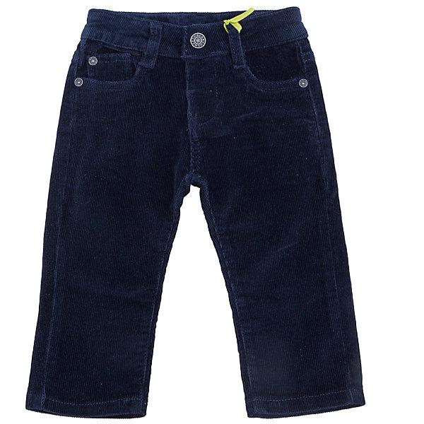 Брюки Sweet BerryБрюки<br>Такая модель брюк для мальчика отличается модным дизайном с удобными карманами. Удачный крой обеспечит ребенку комфорт и тепло. Мягкий и теплый вельвет делает вещь идеальной для прохладной погоды. Она плотно прилегает к телу там, где нужно, и отлично сидит по фигуре. Брюки станут отличной базовой вещью для гардероба. Натуральный хлопок в составе материала обеспечит коже возможность дышать и не вызовет аллергии.<br>Одежда от бренда Sweet Berry - это простой и выгодный способ одеть ребенка удобно и стильно. Всё изделия тщательно проработаны: швы - прочные, материал - качественный, фурнитура - подобранная специально для детей. <br><br>Дополнительная информация:<br><br>вельвет;<br>материал: 98% хлопок, 2% эластан;<br>карманы.