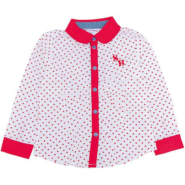 Блузка для девочки Sweet BerryБлузки и рубашки<br>Такая блузка для девочки отличается модным дизайном с ярким принтом. Удачный крой обеспечит ребенку комфорт и тепло. Вещь плотно прилегает к телу там, где нужно, и отлично сидит по фигуре. Декорирована защипами на полочке.<br>Одежда от бренда Sweet Berry - это простой и выгодный способ одеть ребенка удобно и стильно. Всё изделия тщательно проработаны: швы - прочные, материал - качественный, фурнитура - подобранная специально для детей. <br><br>Дополнительная информация:<br><br>цвет: красный;<br>материал: 100% хлопок;<br>застежки: кнопки.<br><br>Блузку для девочки от бренда Sweet Berry можно купить в нашем интернет-магазине.<br>Ширина мм: 186; Глубина мм: 87; Высота мм: 198; Вес г: 197; Цвет: красный; Возраст от месяцев: 24; Возраст до месяцев: 36; Пол: Женский; Возраст: Детский; Размер: 98,104,128,122,116,110; SKU: 4931511;