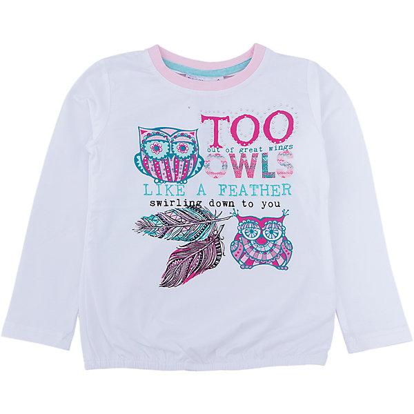 Футболка с длинным рукавом для девочки Sweet BerryФутболки с длинным рукавом<br>Такая футболка с длинным рукавом для девочки отличается модным дизайном с ярким принтом. Удачный крой обеспечит ребенку комфорт и тепло. Вещь плотно прилегает к телу там, где нужно, и отлично сидит по фигуре.<br>Одежда от бренда Sweet Berry - это простой и выгодный способ одеть ребенка удобно и стильно. Всё изделия тщательно проработаны: швы - прочные, материал - качественный, фурнитура - подобранная специально для детей. <br><br>Дополнительная информация:<br><br>цвет: белый;<br>материал: 95% хлопок, 5% эластан;<br>декорирована принтом.<br><br>Футболку с длинным рукавом для девочки от бренда Sweet Berry можно купить в нашем интернет-магазине.<br>Ширина мм: 230; Глубина мм: 40; Высота мм: 220; Вес г: 250; Цвет: белый; Возраст от месяцев: 36; Возраст до месяцев: 48; Пол: Женский; Возраст: Детский; Размер: 104,98,128,122,116,110; SKU: 4931637;
