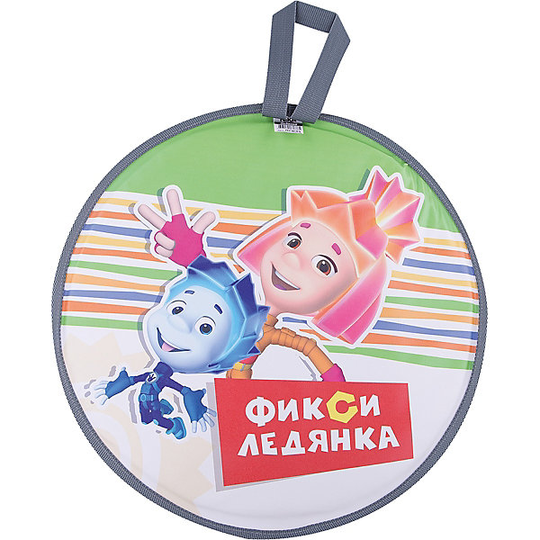 Nika-Kids Ледянка Фиксики, зеленая