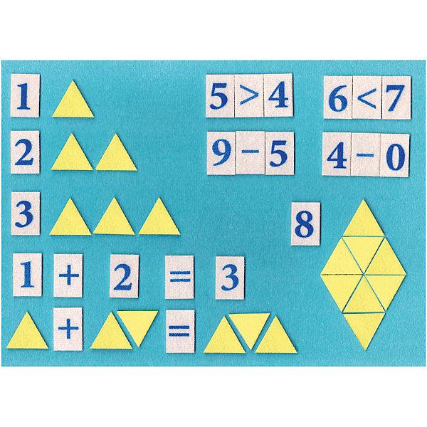 STIGIS Игра на липучках Математическая мозаика однотонная, Stigis цена
