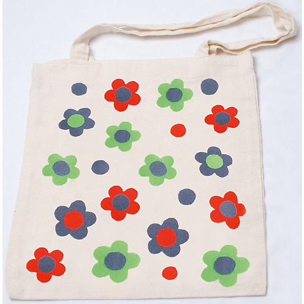STIGIS Стигис-аппликация на эко-сумке Цветочки цена