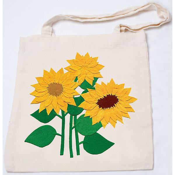 STIGIS Стигис-аппликация на эко-сумке Подсолнухи сумки для детей nici сумка сурикат девочка 19х24х7 см