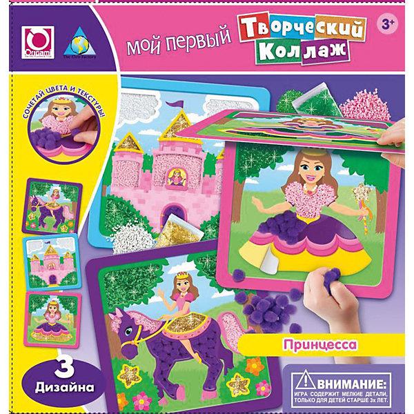 Творческий коллаж ПринцессаАппликации из бумаги<br>Творческий коллаж Принцесса поможет девочке создать очаровательные объемные картинки своими руками. В наборе есть 3 разных дизайна: принцесса, замок и любимая лошадка. Подарите ребенку волшебный красочный мир принцесс!<br><br>Дополнительная информация:<br>В комплекте: 3 картинки-основы, помпоны, стразы<br>Размер: 24х4х24 см<br>Вес: 176 грамм<br>Вы можете приобрести творческий коллаж Принцесса в нашем интернет-магазине.<br>Ширина мм: 240; Глубина мм: 40; Высота мм: 240; Вес г: 176; Возраст от месяцев: 36; Возраст до месяцев: 96; Пол: Женский; Возраст: Детский; SKU: 4939481;