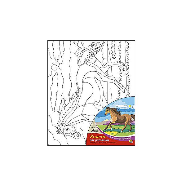 Холст с красками по номерам Дикая лошадь, 25х30 смКартины по номерам<br>Набор для творчества Дикая лошадь поможет ребенку своими руками создать яркий, привлекающий внимание шедевр. Достаточно правильно нанести на рисунок краску, соответствующую номеру на холсте, и картинка словно оживет и будет привлекать внимание своей красотой и уникальностью. В процессе творчества ребенок будет развивать художественные навыки и внимание. Отличный выбор для творческих детей!<br><br>Дополнительная информация:<br>В комплекте: 1 холст с эскизом, 7 акриловых красок, кисточка<br>Размер: 15х1,5х15 см<br>Вес: 140 грамм<br>Вы можете купить набор для творчества Дикая лошадь в нашем интернет-магазине.<br>Ширина мм: 300; Глубина мм: 15; Высота мм: 250; Вес г: 250; Возраст от месяцев: 36; Возраст до месяцев: 120; Пол: Унисекс; Возраст: Детский; SKU: 4939544;