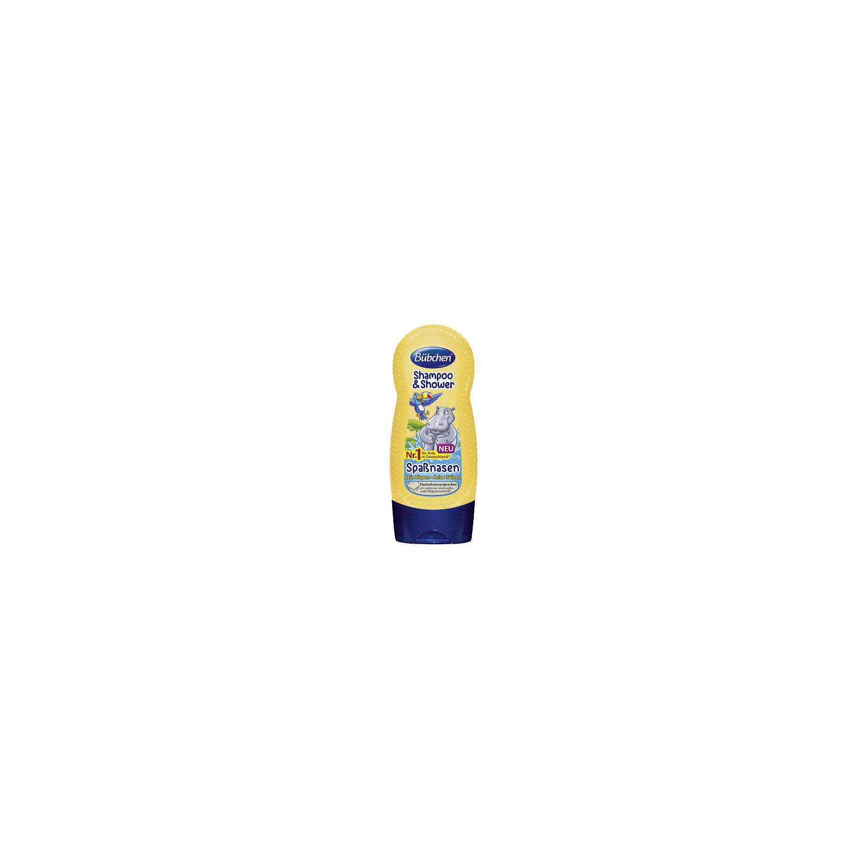 Шампунь для мытья волос и тела Лимпопо, BUBCHEN, 230 мл. (Bubchen)