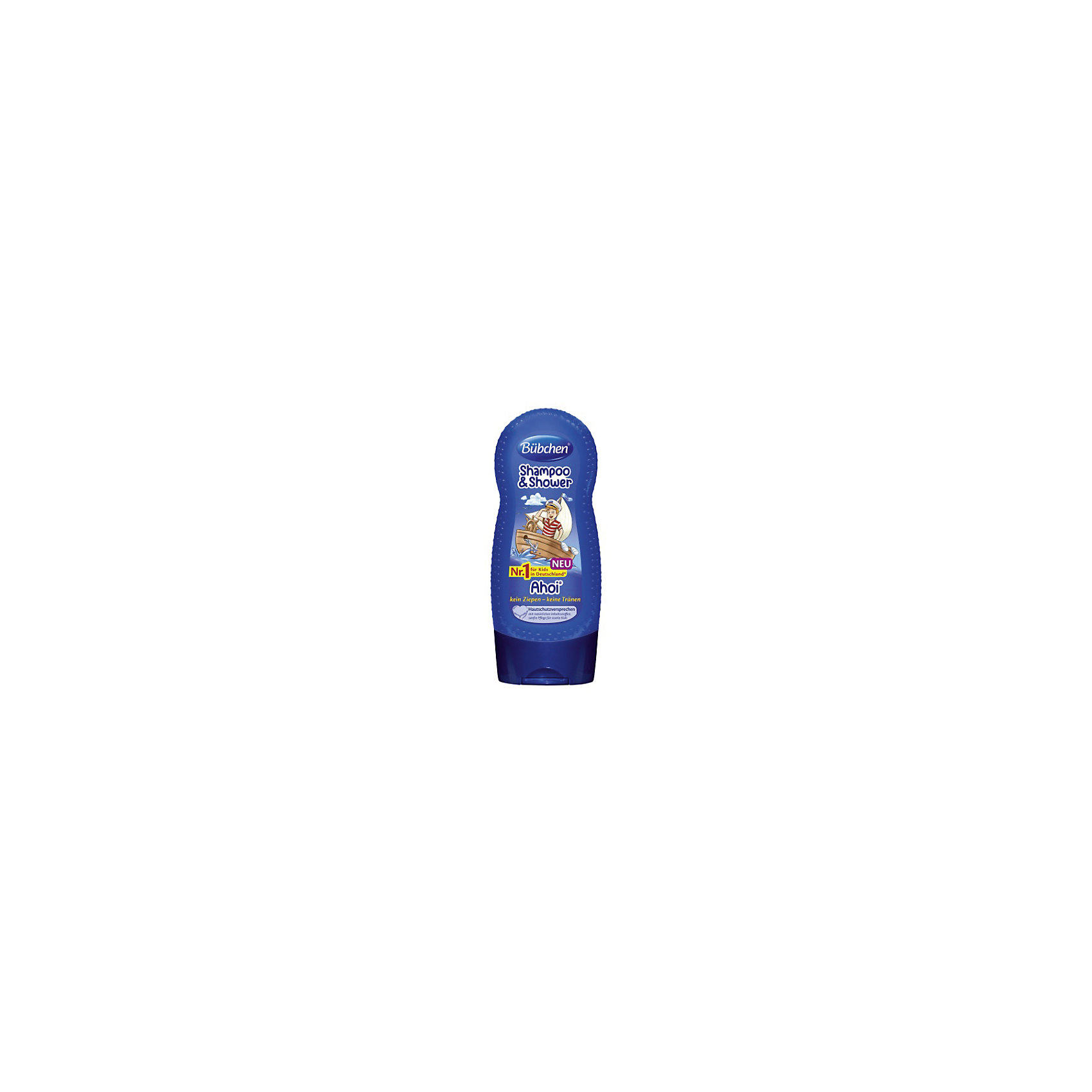 Шампунь мытья волос и тела Йо хо хо, BUBCHEN, 230 мл.