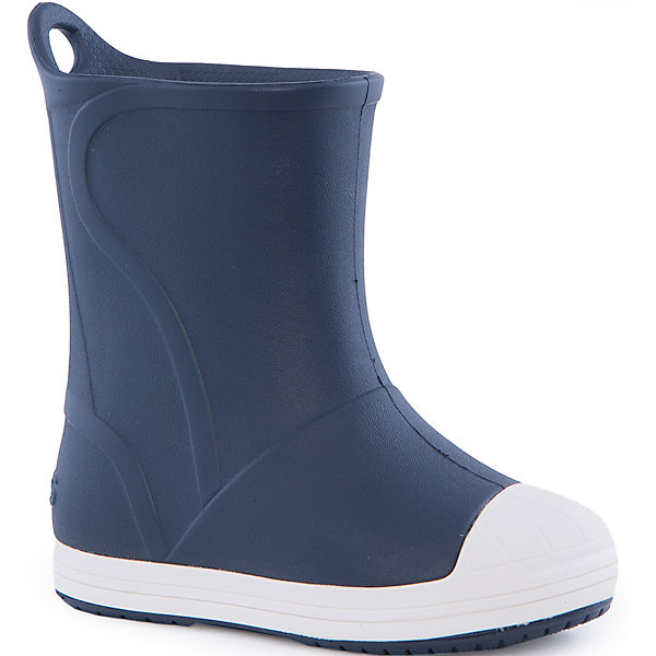 Резиновые сапоги Kids' Crocs Bump It Rain Boot Crocs, синийРезиновые сапоги<br>Характеристики товара:<br><br>• цвет: синий<br>• сезон: демисезон, лето<br>• материал: 100% полимер Croslite™<br>• непромокаемые<br>• температурный режим: от 0° до +20° С<br>• легко очищаются<br>• антискользящая подошва<br>• язычок для удобного надевания<br>• толстая устойчивая подошва<br>• страна бренда: США<br>• страна изготовитель: Китай<br><br>Сапоги могут быть и стильными, и непромокаемыми! <br><br>Для детской обуви крайне важно, чтобы она была удобной. <br><br>Такие сапоги обеспечивают детям необходимый комфорт, а надежный материал не пропускает внутрь воду. <br><br>Сапоги легко надеваются и снимаются, отлично сидят на ноге. <br><br>Материал Croslite™ - это патентованная пена с закрытыми ячейками, обладающая удивительными свойствами. Она присутствует в каждой паре обуви Crocs™, придавая ей характерную упругость, неповторимый комфорт и ощущение свободы.<br><br>Данная модель особенно понравится детям - ведь в них можно бегать по лужам!<br><br>Резиновые сапоги Kids' Crocs Bump It Rain Boot Crocs от торговой марки Crocs можно купить в нашем интернет-магазине.<br>Ширина мм: 237; Глубина мм: 180; Высота мм: 152; Вес г: 438; Цвет: синий; Возраст от месяцев: 72; Возраст до месяцев: 84; Пол: Унисекс; Возраст: Детский; Размер: 30,27,34/35,33/34,31/32,34,33,31,26,25,24,23,29,28; SKU: 4940781;