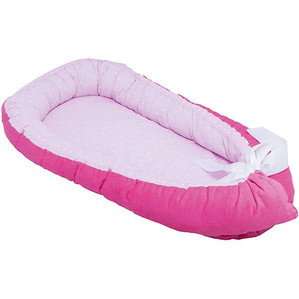 Гнездышко, 85х45см, Baby Nice, фуксияПозиционеры для сна<br>Постельные принадлежности для детей должны быть качественными и безопасными. Этот бортик разработан специально для малышей. Его можно брать с собой в поездки, он занимает мало места, и его можно компактно сложить. Бортик также может заменить подушку для вскармливания.<br>Чехол - из натурального дышащего хлопка, приятного на ощупь. Он не вызывает аллергии, что особенно важно для малышей. Наполнитель - файбер, легкий, упругий и обеспечивающий хорошую терморегуляцию. Бортик сделан из высококачественных материалов, безопасных для ребенка.<br><br>Дополнительная информация:<br><br>цвет: фуксия;<br>материал: хлопок, файбер;<br>размер: 85 х 45 см.<br><br>Бортик Гнездышко, Грибочек, 85х45см, от компании Baby Nice можно купить в нашем магазине.<br>Ширина мм: 850; Глубина мм: 450; Высота мм: 100; Вес г: 900; Возраст от месяцев: 0; Возраст до месяцев: 3; Пол: Женский; Возраст: Детский; SKU: 4941777;