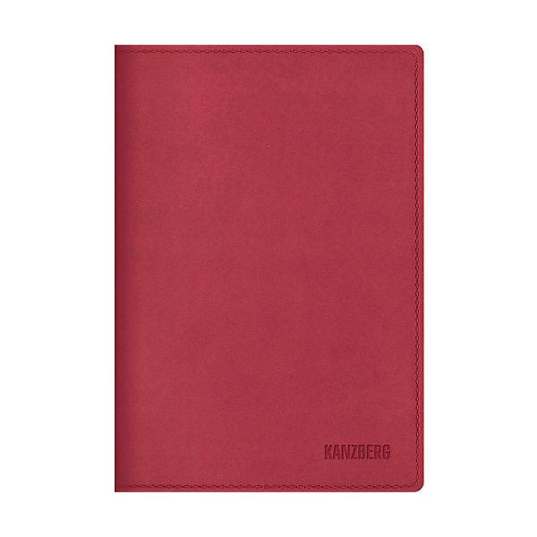 Канц-Эксмо Ежедневник малиновый А6 KANZBERG, 152 л тетради канц эксмо темно красная а5 200листов тетради с пластиковой обложкой