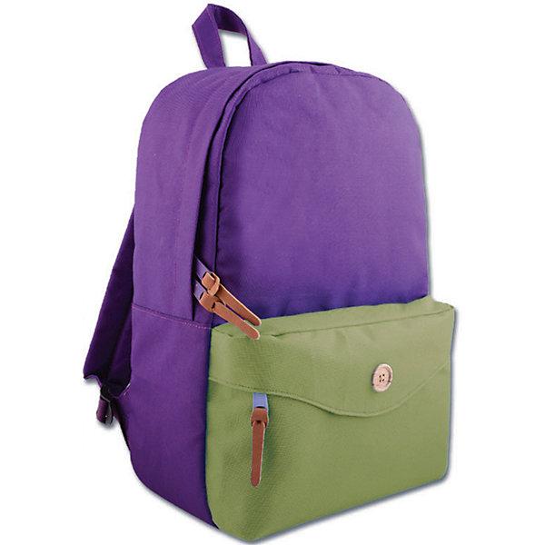 Рюкзак молодежный, фиолетовыйЧемоданы и дорожные сумки<br>Яркий, вместительный рюкзак для молодежи. У рюкзака одно большое отделение на молнии и дополнительный накладной карман, лямки регулируются.<br><br>Дополнительная информация:<br><br>- Возраст: от 10 лет.<br>- Цвет: фиолетовый.<br>- Материал: 100% полиэстер.<br>- Размер упаковки: 42х28х11 см.<br>- Вес в упаковке: 325 г.<br><br>Купить молодежный рюкзак в фиолетовом цвете, можно в нашем магазине.<br>Ширина мм: 420; Глубина мм: 280; Высота мм: 110; Вес г: 325; Возраст от месяцев: 72; Возраст до месяцев: 2147483647; Пол: Унисекс; Возраст: Детский; SKU: 4943433;