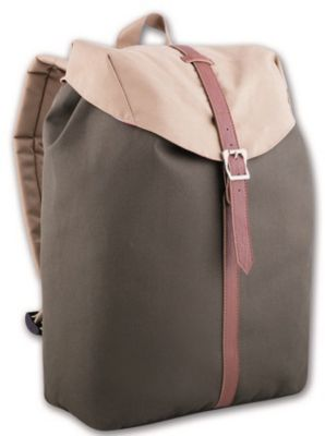 Рюкзак молодежный, серо-бежевый, артикул:4943503 - Путешествия