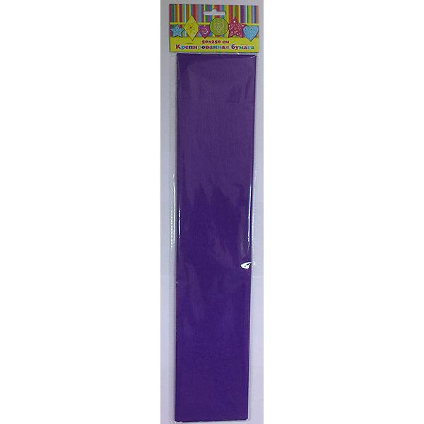 Бумага фиолетовая крепированнаяТовары для скрапбукинга<br>Изумительная крепированная бумага фиолетового цвета, из нее Ваш малыш сможет сделать множество ярких цветов или другие поделки.<br><br>Дополнительная информация:<br><br>- Возраст: от 3 лет.<br>- 1 лист.<br>- Цвет: фиолетовый.<br>- Материал: бумага.<br>- Размеры: 50х250 см.<br>- Размер упаковки: 51х11х0,2 см.<br>- Вес в упаковке: 30 г. <br><br>Купить крепированную бумагу в фиолетовом цвете, можно в нашем магазине.<br>Ширина мм: 510; Глубина мм: 110; Высота мм: 2; Вес г: 30; Возраст от месяцев: 36; Возраст до месяцев: 2147483647; Пол: Унисекс; Возраст: Детский; SKU: 4943604;