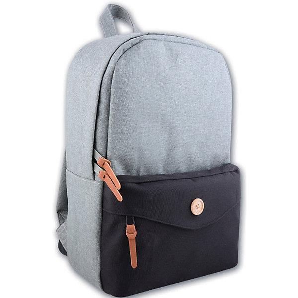 Рюкзак молодежный, серыйЧемоданы и дорожные сумки<br>Стильный, удобный рюкзак для Вашего ребенка. У рюкзака одно большое отделение на молнии и один дополнительный карман спереди, лямки регулируются.<br><br>Дополнительная информация:<br><br>- Возраст: от 6 лет.<br>- Молнии ранца украшены брелками.<br>- Цвет: серый.<br>- Материал: 100% полиэстер.<br>- Размер упаковки: 42х28х11 см.<br>- Вес в упаковке: 325 г.<br><br>Купить молодежный рюкзак в сером цвете, можно в нашем магазине.<br>Ширина мм: 420; Глубина мм: 280; Высота мм: 110; Вес г: 325; Возраст от месяцев: 72; Возраст до месяцев: 2147483647; Пол: Унисекс; Возраст: Детский; SKU: 4943606;