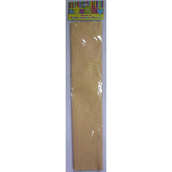 Феникс+ Бумага желтая перламутровая крепированная бум цв перламутровая крепированная 50 250см 22г м2 феникс розовая 28595
