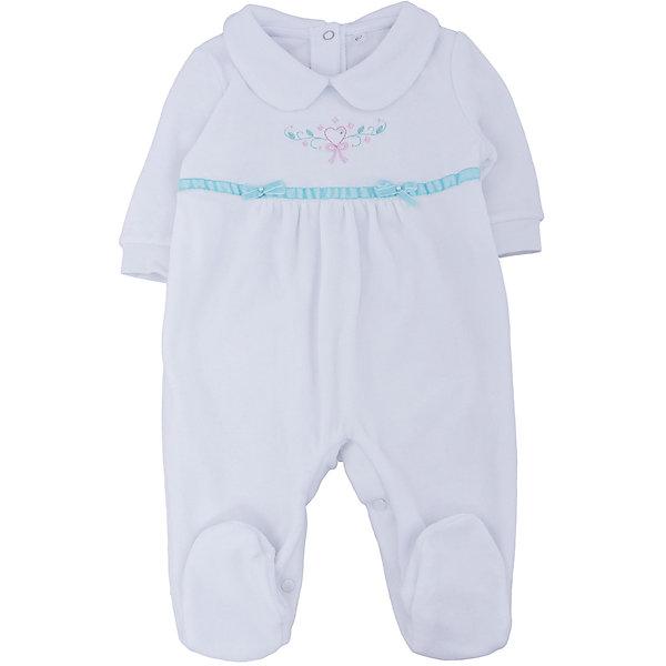 Soni Kids Комбинезон для девочки Soni kids комбинезон утепленный для новорожденного soni kids мишка джентельмен цвет белый голубой з8102006 размер 62