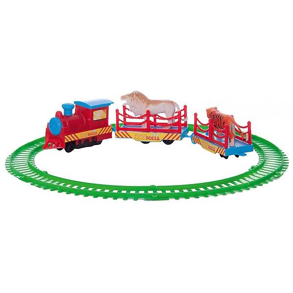 Играем вместе Железная дорога , 22,5*21*3,5см, Играем вместе играем вместе железная дорога ржд товарный поезд