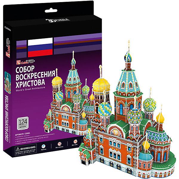 CubicFun Пазл 3D Собор Воскресения Христова (Россия), CubicFun