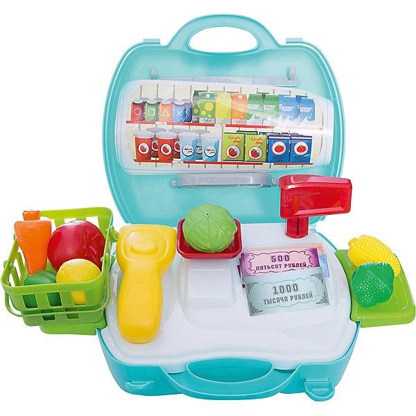1Toy Игровой набор Возьми с собой Продавец супермаркета, 23 предмета