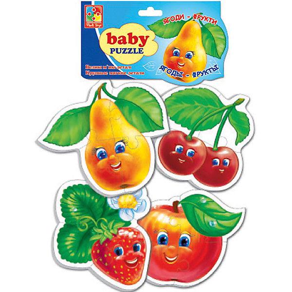 Vladi Toys Мягкие пазлы Фрукты, Vladi Toys мягкие пазлы магниты фрукты isbn 978 966 936 692 4