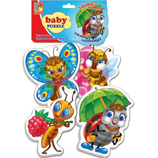 Vladi Toys Мягкие пазлы Насекомые, Vladi Toys