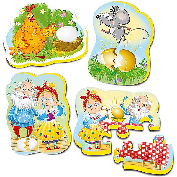 Vladi Toys Мягкие пазлы Три поросенка, Vladi Toys vladi toys мягкие пазлы мася фиксики vladi toys