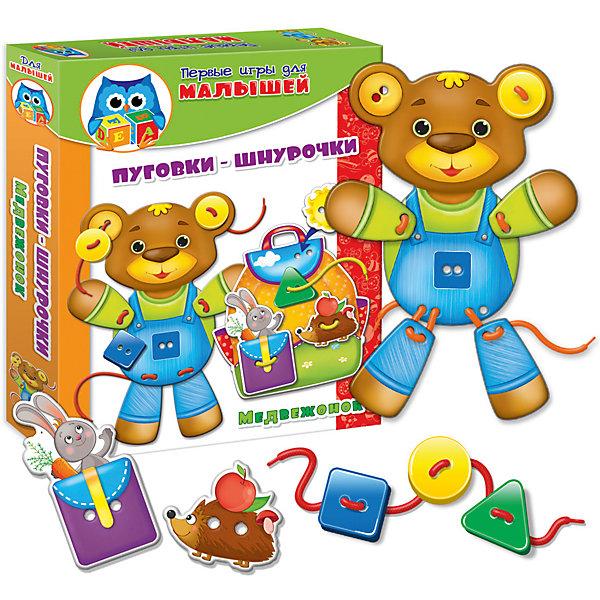 Vladi Toys Набор развивающих игр Медвежонок, Vladi Toys