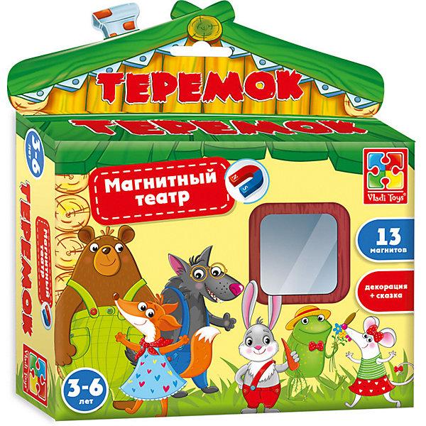 Купить Магнитный театр Теремок , Vladi Toys, Украина, Унисекс