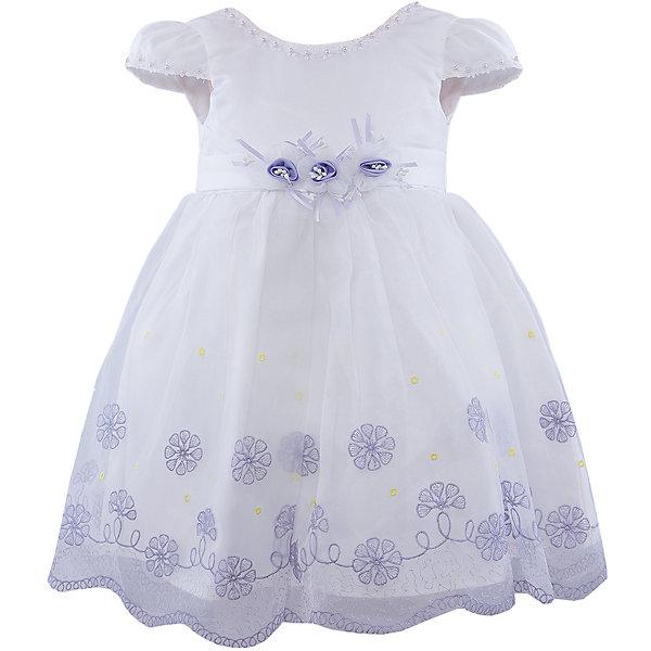 Нарядное платье для девочки VitacciОдежда<br>Платье для девочки от известного бренда Vitacci.<br>Очаровательное платье для маленькой принцессы. Модель отрезная по линии талии,с застёжкой молнией на спинке.<br>Состав:<br>100% полиэстер<br>Ширина мм: 236; Глубина мм: 16; Высота мм: 184; Вес г: 177; Цвет: синий/белый; Возраст от месяцев: 12; Возраст до месяцев: 15; Пол: Женский; Возраст: Детский; Размер: 80,90,120,110,100; SKU: 4956079;