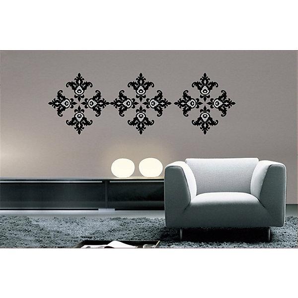 Феникс-Презент Декоративная наклейка на стену Узоры (33,5*52 см)