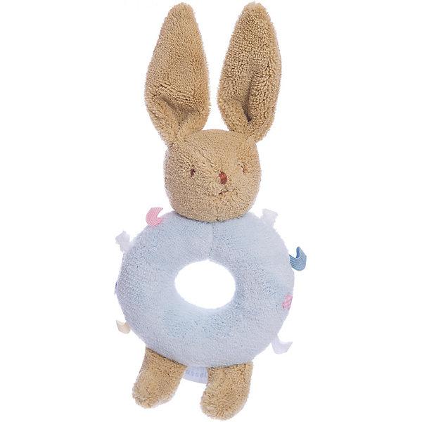 Погремушка-кольцо Зайчик, голубое, 16смИгрушки для новорожденных<br>Погремушка-кольцо Зайчик, голубое, 16см, Trousselier<br><br>Характеристика:<br><br>-Материалы: текстиль, полиэстер, хлопок<br>-Возраст: от 3 месяцев<br>-Размер: 16 см<br>-Цвет: голубой<br>-Марка: Trousselier<br><br>Погремушка-кольцо очень удобна для малыша. Благодаря кольцу, ребёнку будет легко держать погремушку. Ребёнок не сможет пораниться, ведь вся погремушка мягкая, словно плюшевая игрушка. Выполнена она в виде зайчика, а кольцо посередине имеет веселую полосатую окраску . Погремушка будет развивать слух, внимание и цветовое восприятие.<br><br>Погремушка-кольцо Зайчик, голубое, 16см, Trousselier можно приобрести в нашем интернет-магазине.<br>Ширина мм: 160; Глубина мм: 40; Высота мм: 40; Вес г: 180; Возраст от месяцев: -2147483648; Возраст до месяцев: 2147483647; Пол: Унисекс; Возраст: Детский; SKU: 4964792;