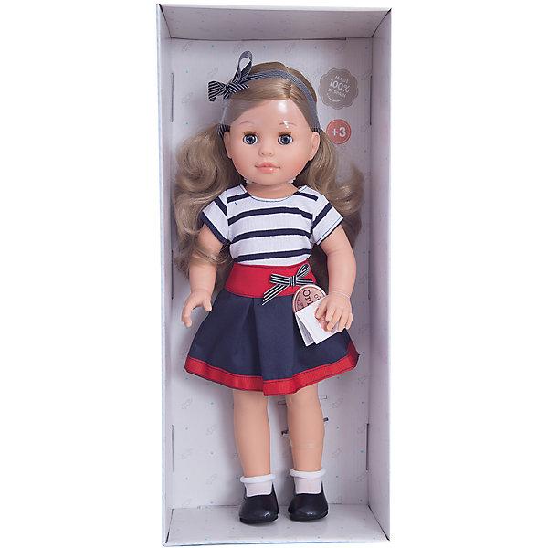 Кукла Эмма, 42 см, Paola ReinaКуклы<br>Кукла изготовлена из винила; глаза выполнены в виде кристалла из прозрачного твердого пластика; волосы сделаны из высококачественного нейлона.<br>Ширина мм: 250; Глубина мм: 120; Высота мм: 500; Вес г: 1333; Возраст от месяцев: 36; Возраст до месяцев: 144; Пол: Женский; Возраст: Детский; SKU: 4966356;